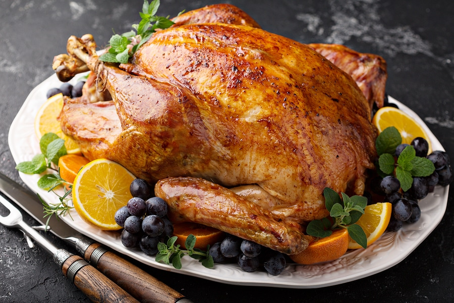 bigstock Whole Roasted Turkey For Thank