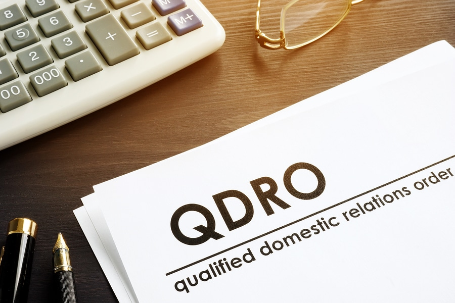 QDRO qualified domestics relations order text