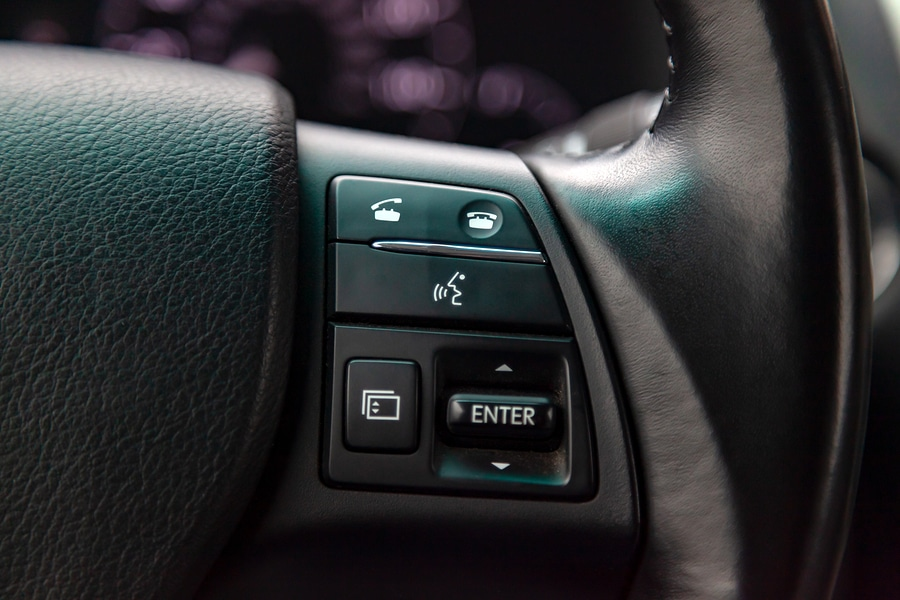 car bluetooth control buttons