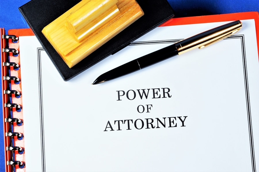 bigstock Power Of Attorney A Documen