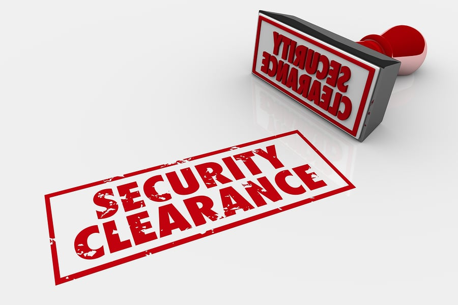 bigstock Security Clearance Approved St