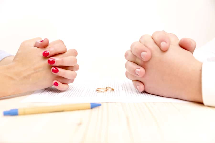 signing a prenup agreement